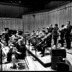 Tommy Smith Youth Jazz Orchestra playing at the Royal Conservatoire in Glasgow