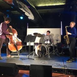 Playing with Misha Mullov-Abbado and David Ingamells