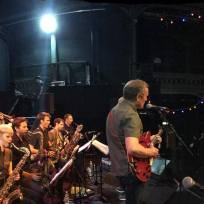 Ryan Quigley Big Band with Hamish Stuart, Glasgow Jazz Festival 2016